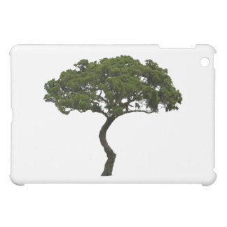 Green tree informal upright photograph cover for the iPad mini