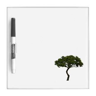 Green tree informal upright photograph dry erase board