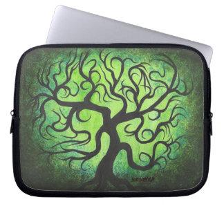Green tree- Laptop sleeve