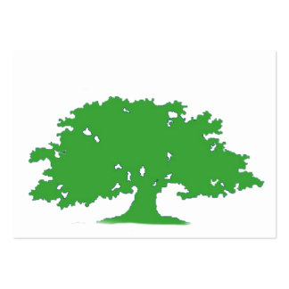 Green Tree Large Business Card