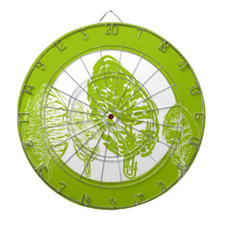 Green tree (leaves) dartboard