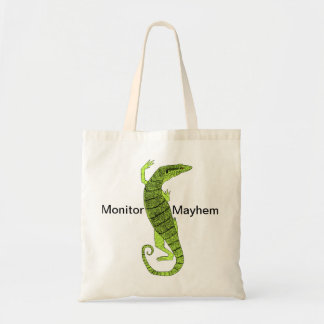 Green Tree Monitor Bag