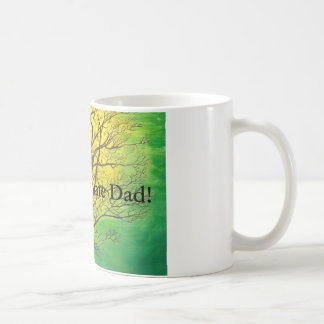 Green Tree Most Awesome Dad! mug