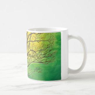 Green Tree Most Awesome Mom! mug