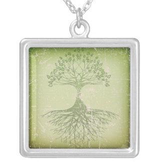 Green Tree of Life Pendant