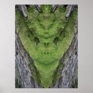 Green Tree Ogre Poster