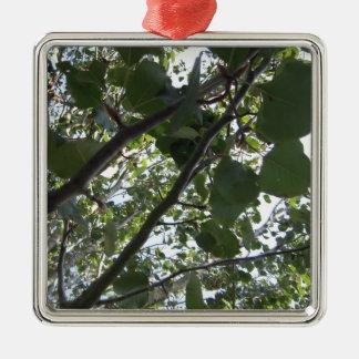 Green Tree Photography Metal Ornament