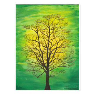Green Tree Postcard