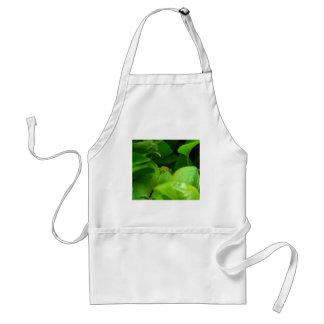 green tree python snake adult apron