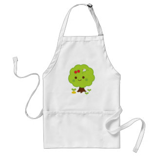 Green Tree Sprouts Apron