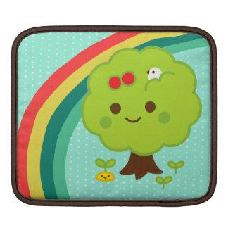 Green Tree Sprouts iPad Sleeve