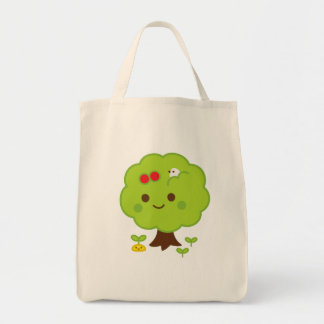 Green Tree Sprouts Tote Bag