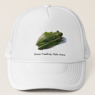 Green Treefrog, Hyla cinera Trucker Hat
