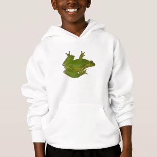 Green Treefrog Kid Sweatshirt