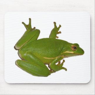 Green Treefrog Mousepad