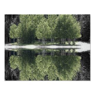 Green Trees Card