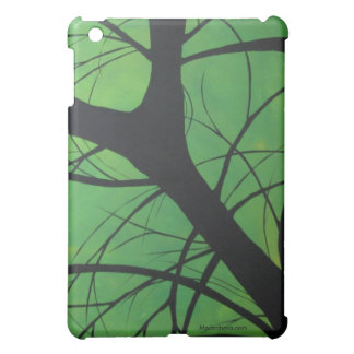 Green Trees iPad Case