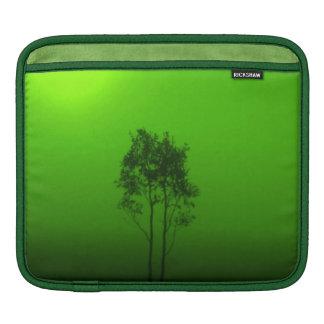 Green Trees Sunrise Nature Photo Art iPad Sleeve