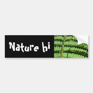 green trend bumper sticker