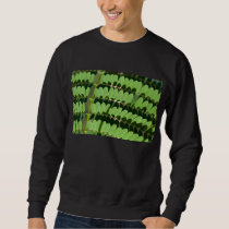 green trend sweatshirt