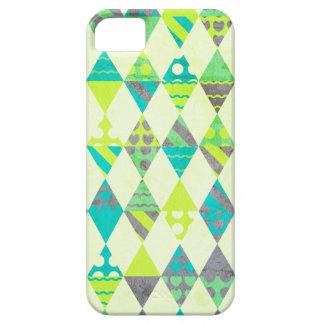 Green Triangles iPhone 5 Cases