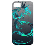 green tribal dragon phone case iPhone 5 cover