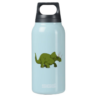 Green Triceratops Dinosaur Thermos Bottle