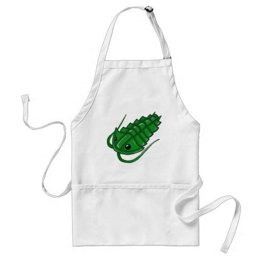 Green Trilobite Adult Apron