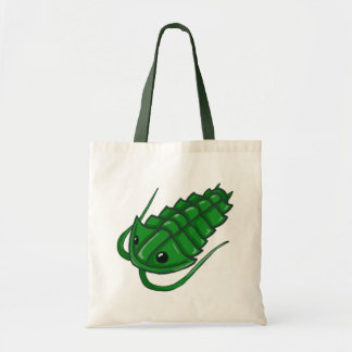 Green Trilobite Canvas Bags