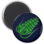 Green Trilobite Refrigerator Magnet