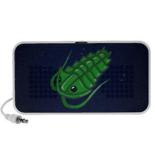 Green Trilobite Travelling Speaker