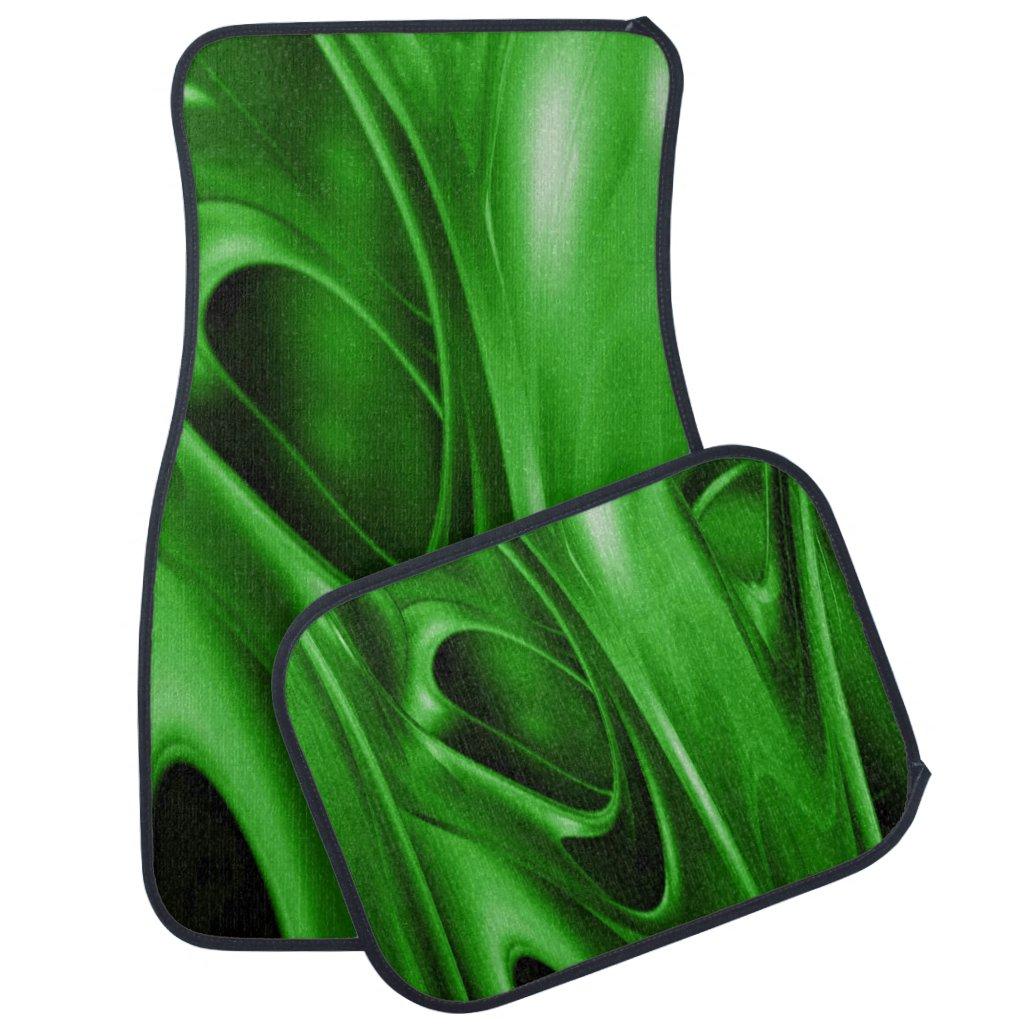 Green Trip Car Floor Mat