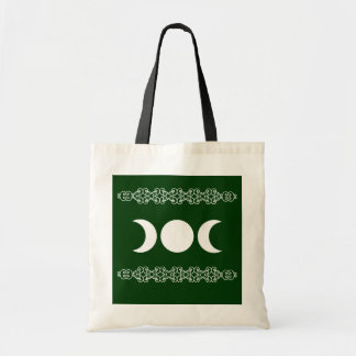 Green Triple Goddess Budget Tote Bag