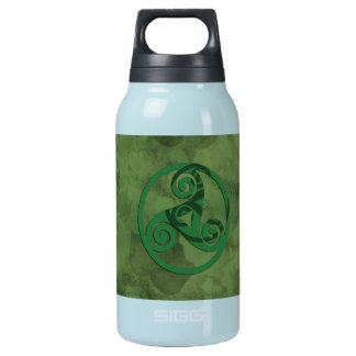 Green Triskell Insulated Water Bottle