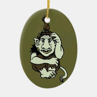 Green Troll Ornament