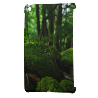 green tropical rainforest iPad mini cases