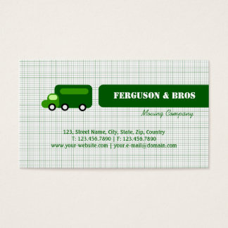 Green Truck Business Card