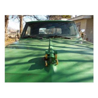 Green Truck Postcard