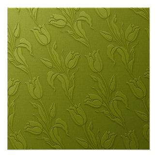 Green Tulips Invitation