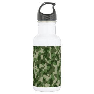 Green Tundra Camo Water Bottle