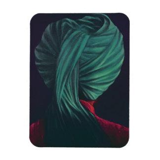 Green Turban Magnet