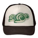 Green Turbos Hats