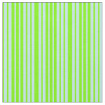 [ Thumbnail: Green & Turquoise Lined Pattern Fabric ]