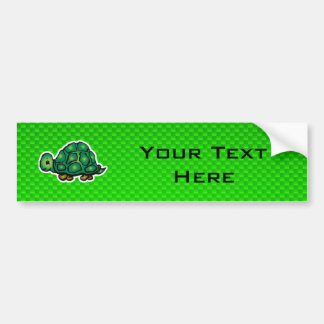 Green Turtle Bumper Sticker