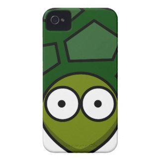 Green Turtle Cartoon iPhone 4 Case