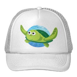 Green Turtle Hat