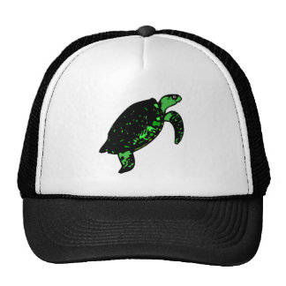 Green Turtle Mesh Hats