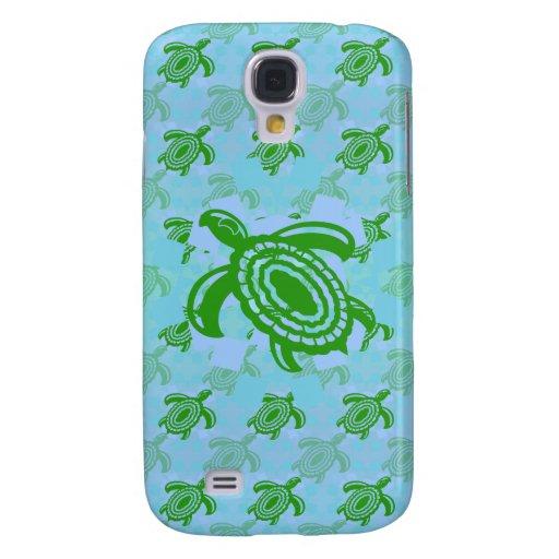 Green Turtle HTC Vivid Phone Case Galaxy S4 Cases