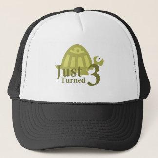 Green Turtle: Just Turned Three Trucker Hat