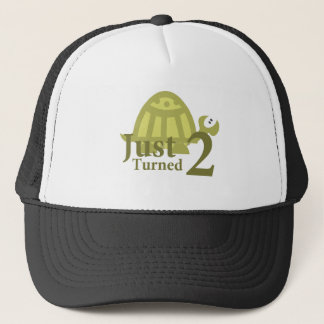 Green Turtle: Just Turned Two Trucker Hat